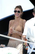 CRISTINA BUCCINO in Bikini at a Yacht in Formentera 06/18/2017