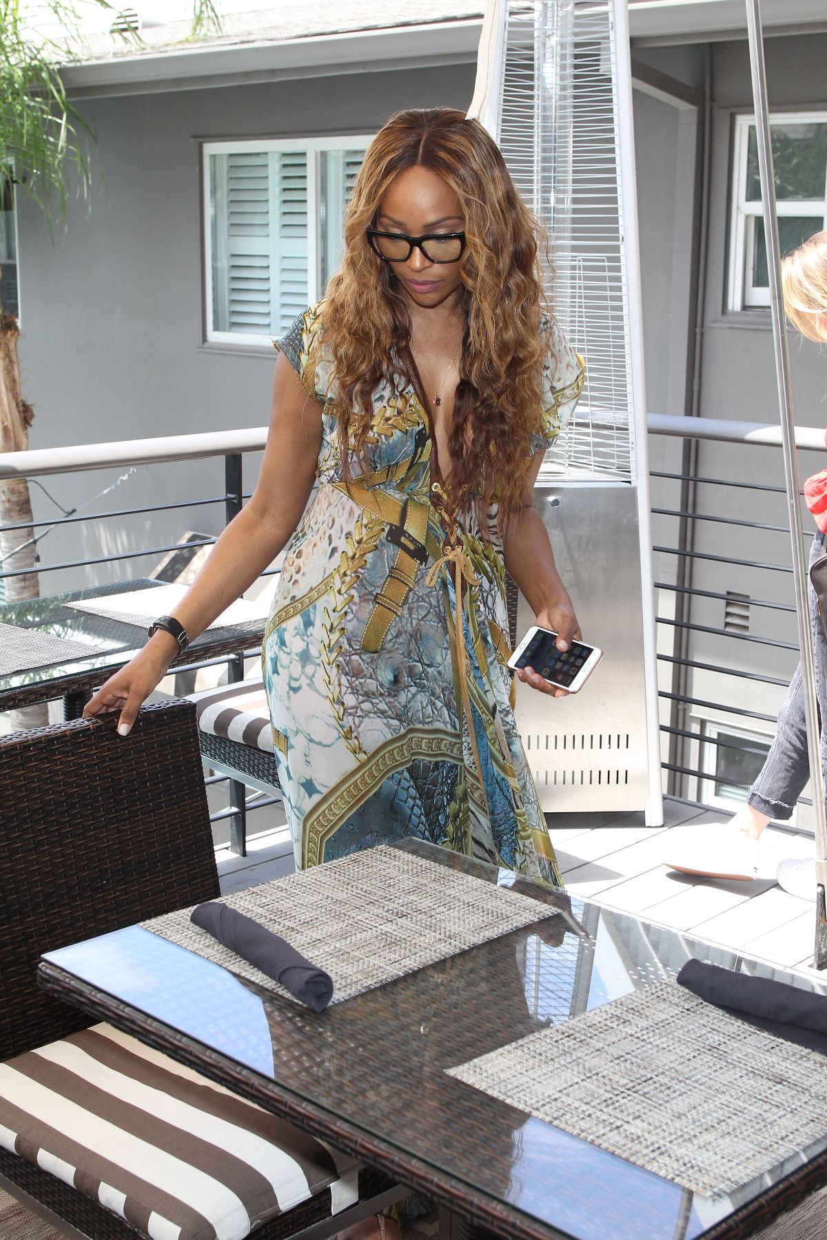 CYNTHIA BAILEY Sighting in Los Angeles 06/13/2017