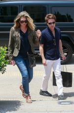 DAISY FUENTES Shopping at Barney