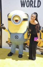 DANA GAIER at Despicable Me 3 Premiere in Los Angeles 06/24/2017