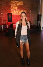 DANIELLE BRADBERY at DSW & Elle Happy Hour Event in Nashville 06/08/2017