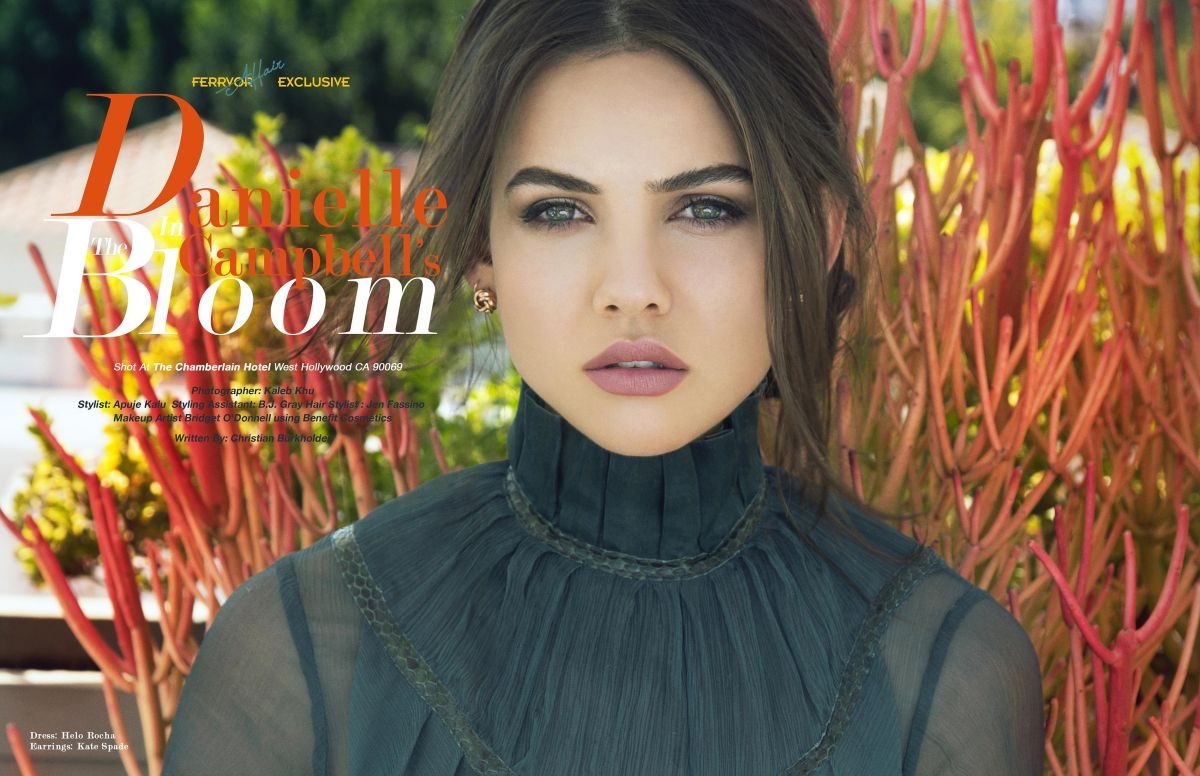 DANIELLE CAMPBELL for Ferrvor Magazine, May 2017