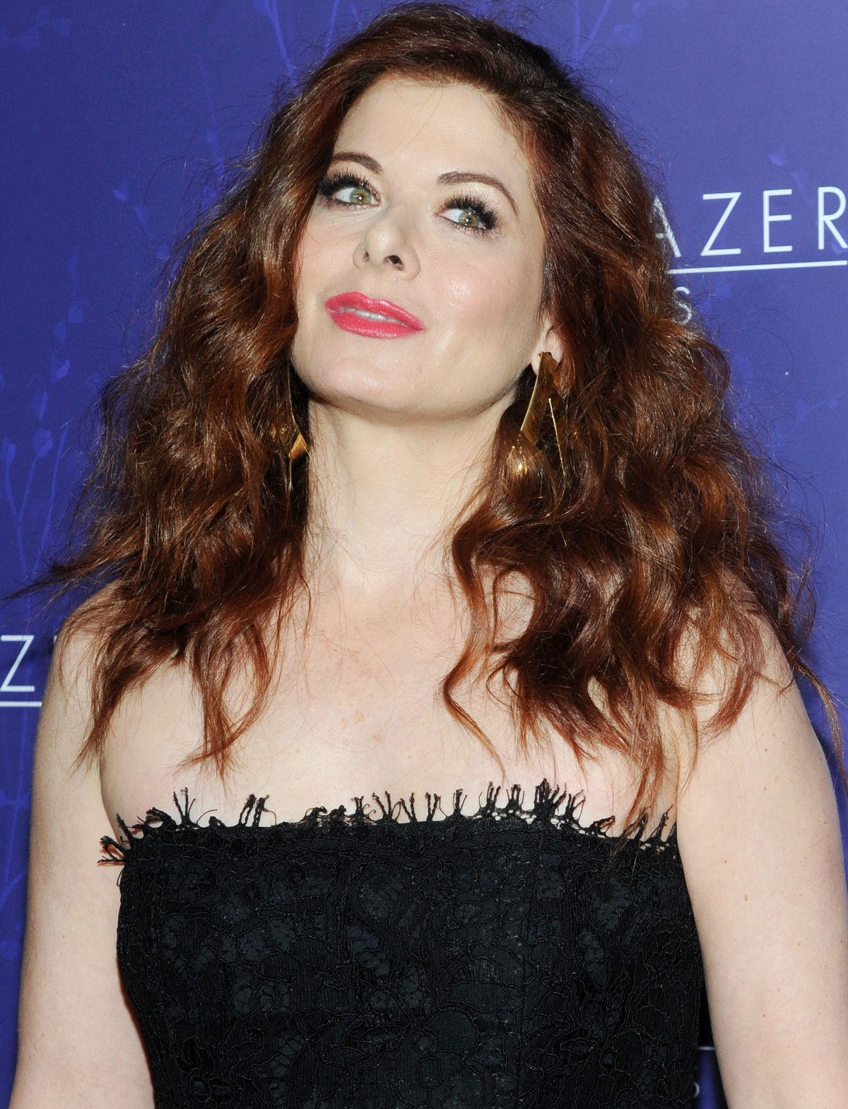 DEBRA MESSING at Logo