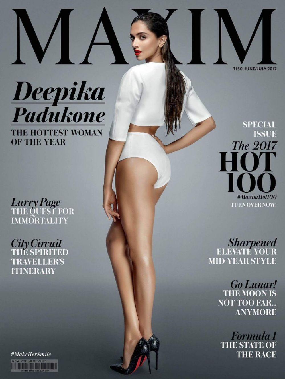 DEEPIKA PADUKONE on the Cover of Maxim Magazine, India June/July 2017
