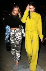 DELILAH and AMELIA HAMLIN at Tao Restaurant in Hollywood 06/01/2017