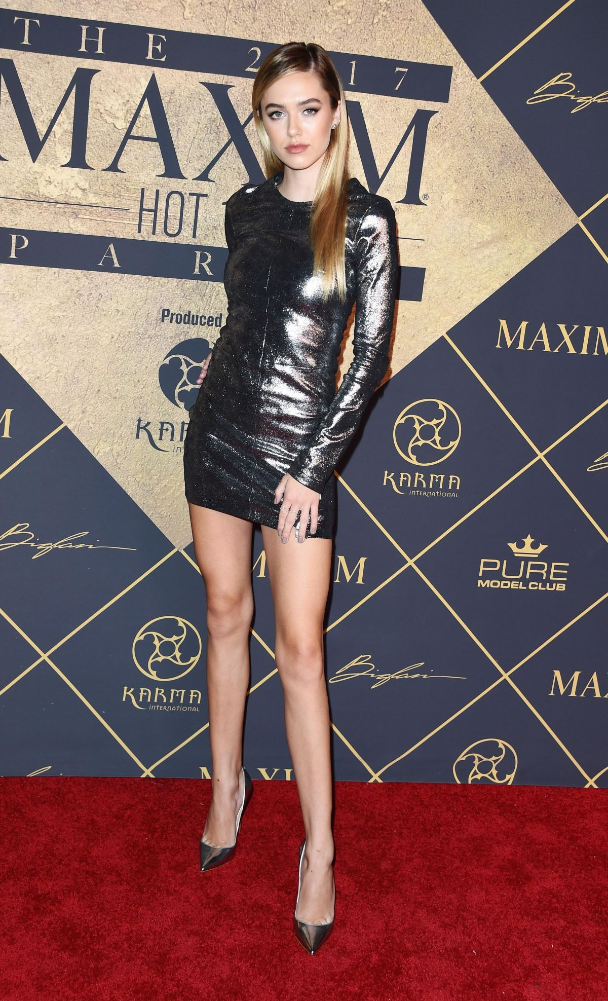 DELILAH BELLE HAMLIN at Maxim Hot 100 Party in Hollywood 06/24/2017