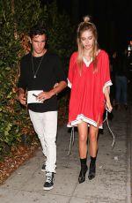 DELILAH HAMLIN Out for Dinner in West Hollywood 06/08/2017