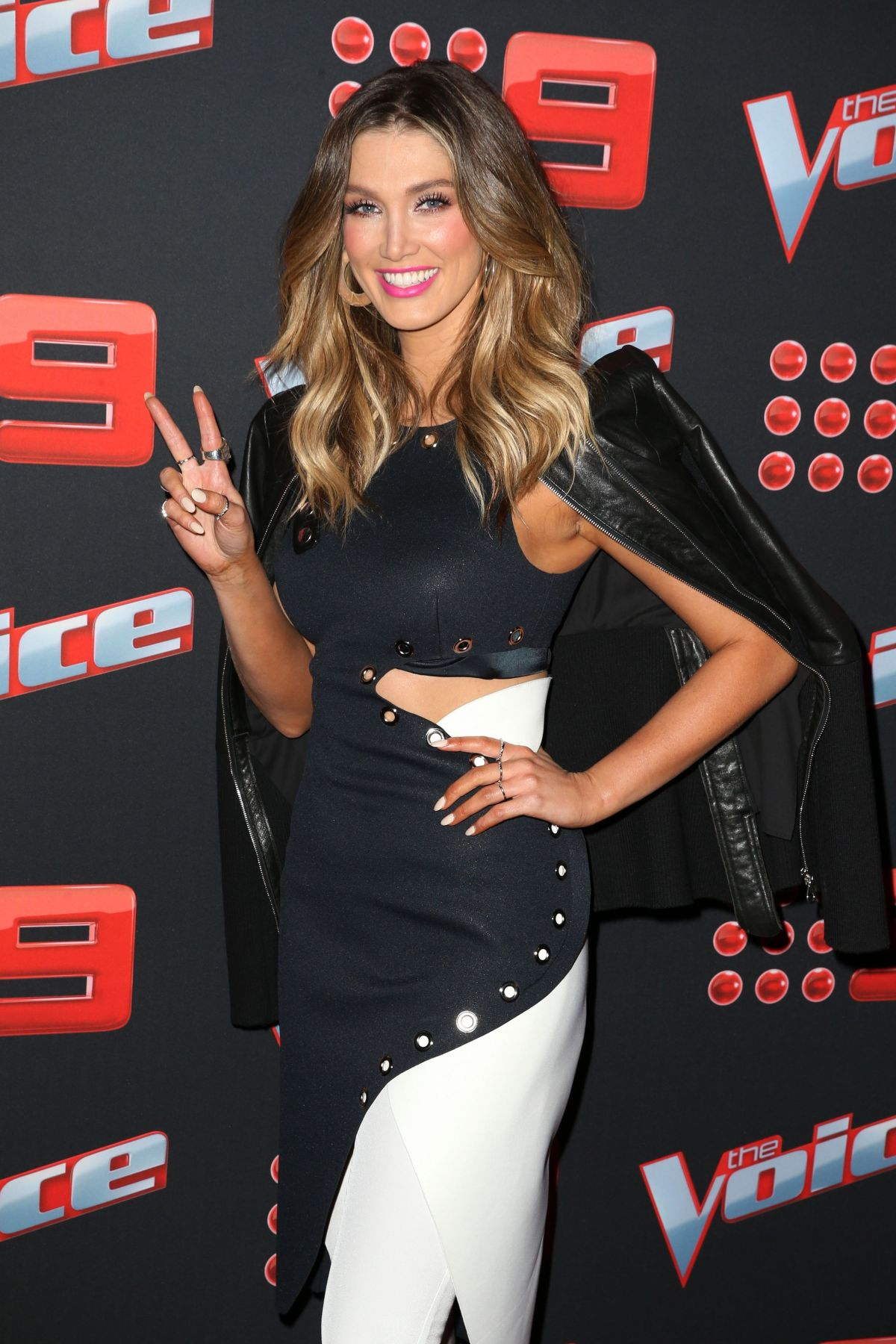 DELTA GOODREM at The Voice Live Show Launch Party in Sydney 05/31/2017