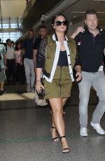 DEMI LOVATO at LAX Airport in Los Angeles 06/17/2017