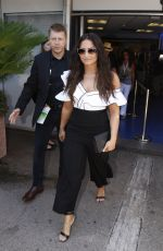 DEMI LOVATO Leaves Cannes Lions Festival in Cannes 06/19/2017