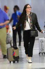 DEMI MOORE at JFK Airport in New York 06/10/2017