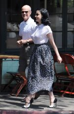 DITA VON TEESE Out for Lunch in Los Angeles 06/05/2017