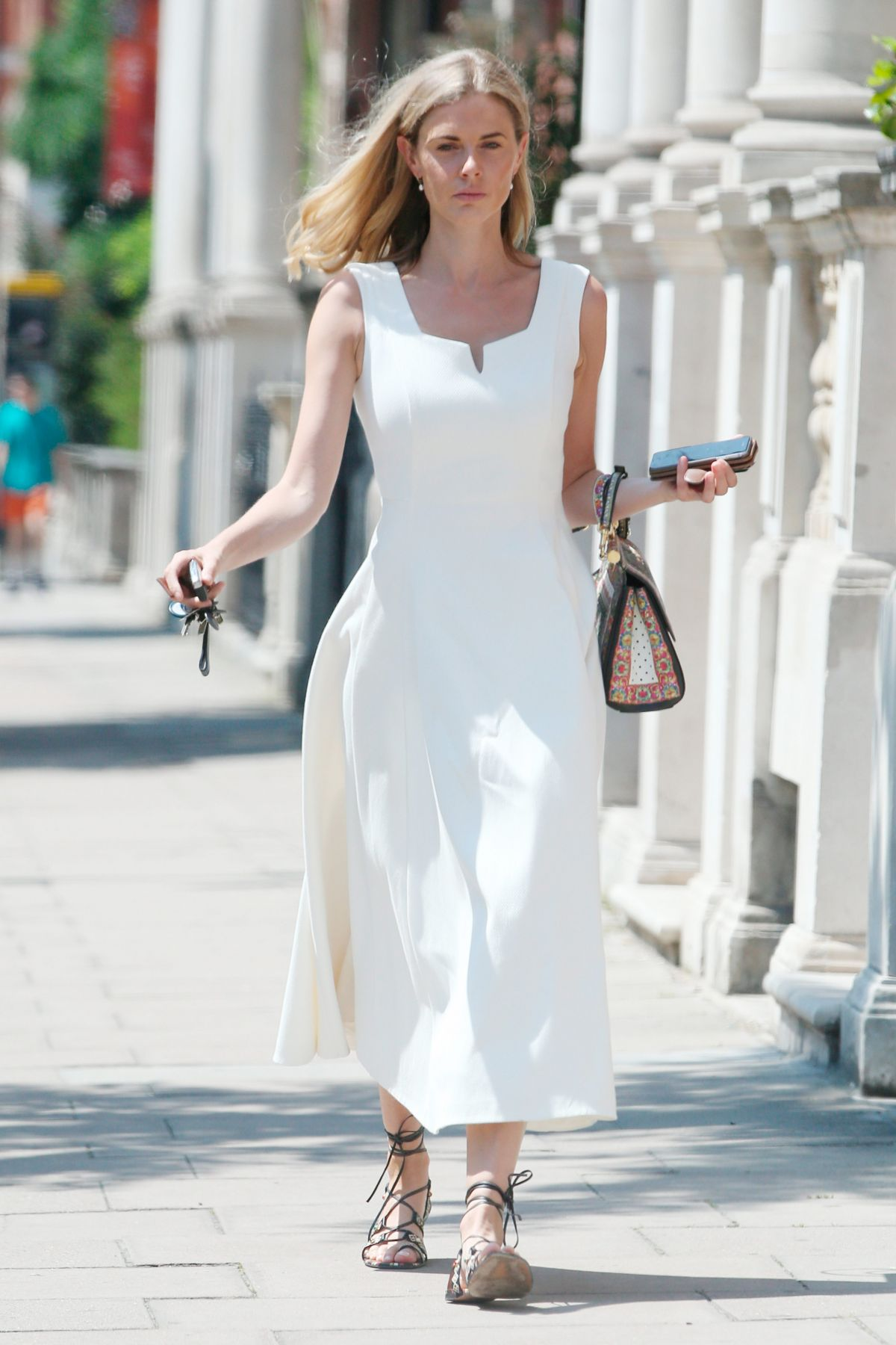 DONNA AIR Out and About in London 06/19/2017