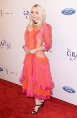 DOVE CAMERON at 42nd Annual Gracie Awards in Beverly Hills 06/06/2017