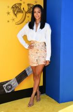 DRAYA MICHELE at Despicable Me 3 Premiere in Los Angeles 06/24/2017