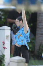 DUA LIPA on the Set of Her Music Video in Miami Beach 06/15/2017