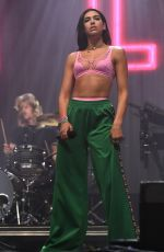 DUA LIPA Performs at Glastonbury Festival in Pilton 06/23/2017