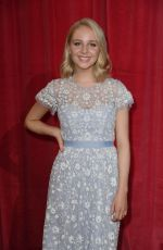 EDEN TAYLOR-DRAPER at British Soap Awards in Manchester 06/03/2017