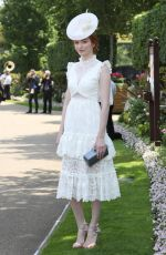 ELEANOR THOMPSON at Royal Ascot Races in Berkshire 06/21/2017