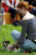 ELEANOR TOMLINSON at Adlestrop Open Day and Fun Dog Show in Gloucestershire 06/11/2017