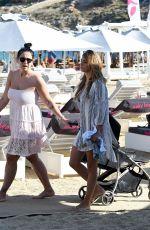 ELEONORA BRUNACCI in Bikini on the Beach in Mykonos 06/09/2017