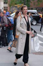 ELETTRA ROSSELLINI WIEDEMANN Leaves AOL Studio in New York 06/07/2017
