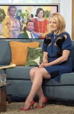ELISABETH MOSS at This Morning TV Show in London 06/01/2017