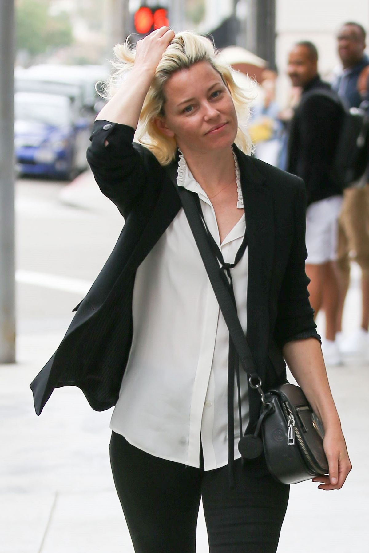 ELIZABETH BANKS Out and About in Beverly Hills 06/08/2017