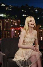 ELLE FANNING at Jimmy Kimmel Live in Hollywood 06/19/2017