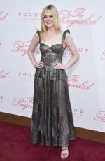 ELLE FANNING at The Beguiled Premiere in Los Angeles 06/12/2017