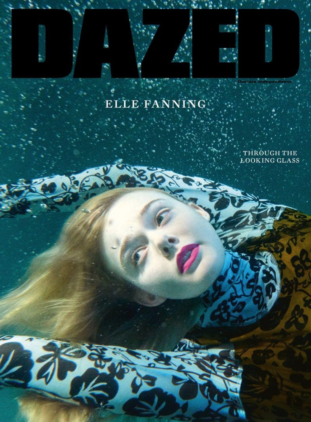 ELLE FANNING for Dazed Magazine, Summer 2017