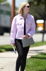 ELLE FANNING Out in Los Angeles 06/13/2017