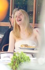 ELLE FANNING Out in New York 06/02/2017