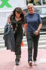 ELLEN DEGENERES and JOELY FISHER Out in Los Angeles 06/01/2017