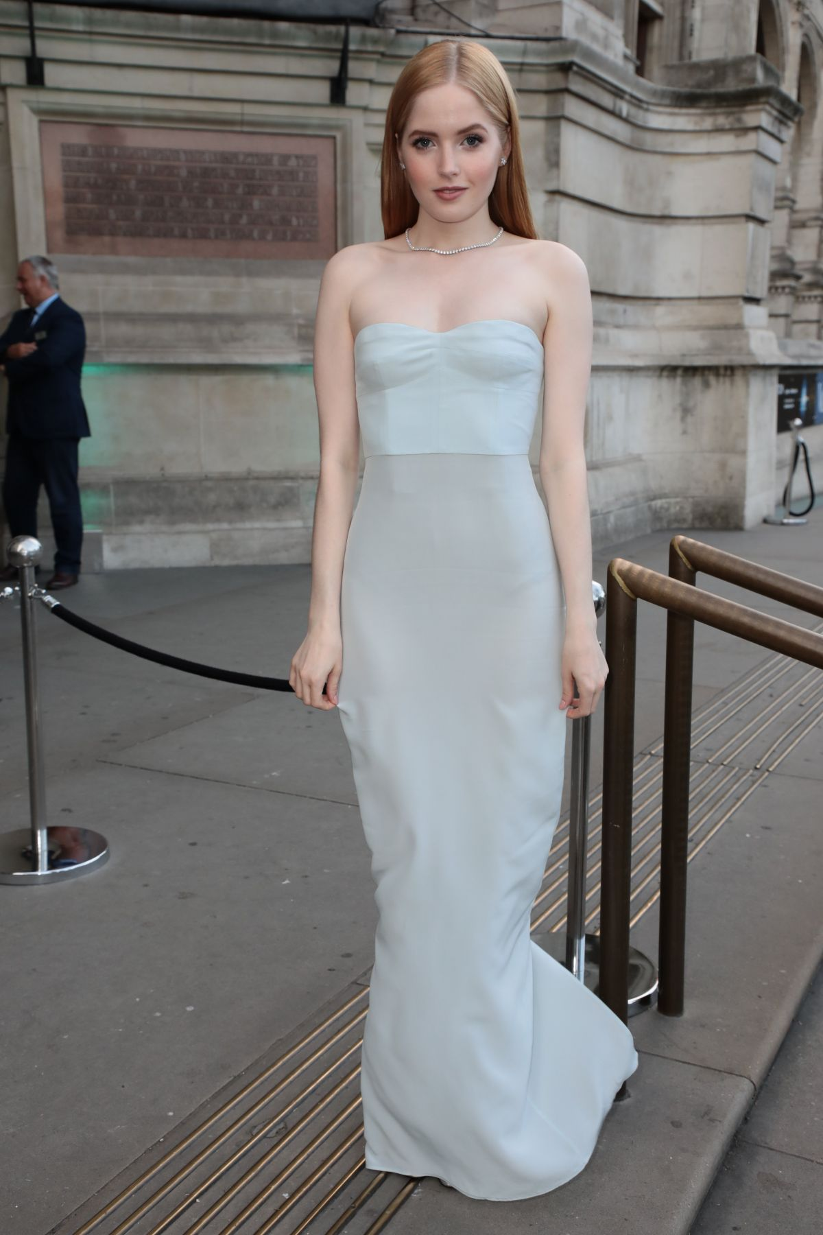 ELLIE BAMBER at V&A Summer Party in London 06/21/2017 - HawtCelebs