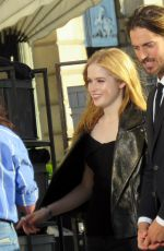 ELLIE BAMBER on the Set of a Photoshoot in Paris 06/16/2017
