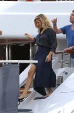ELLIE GOULDING a Party on a Yacht at Cannes Lions Festival 06/21/2017