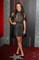 ELLIE LEACH at British Soap Awards in Manchester 06/03/2017