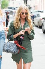 ELSA HOSK and ROMEE STRIJD Out in New York 06/21/2017