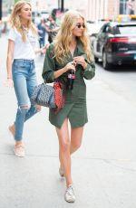ELSA HOSK Leaves Photoshoot in New York 06/21/2017