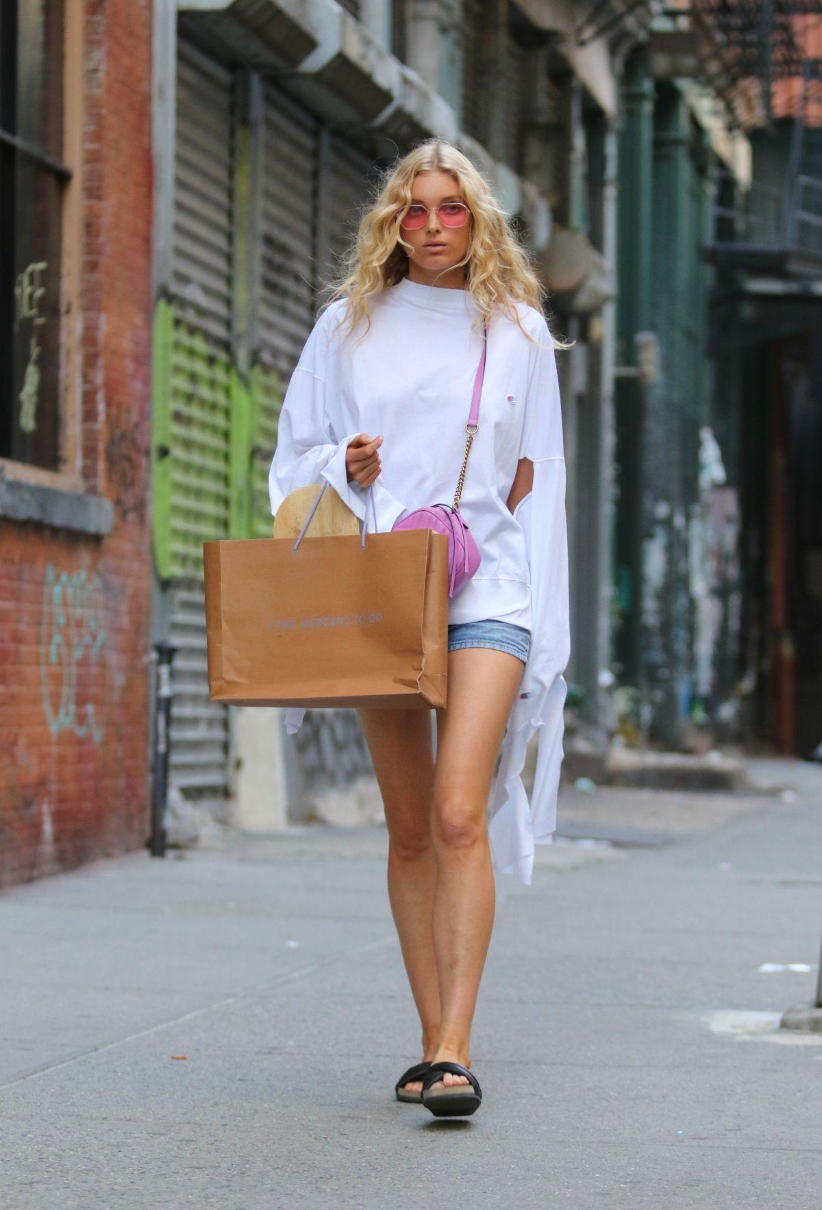 ELSA HOSK Out in New York 06/10/2017