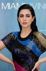 EMERAUDE TOUBIA in Miami Living Magazine, June/July 2017