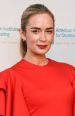 EMILY BLUNT at American Institute for Stuttering 11th Anual Gala in New York 06/26/2017