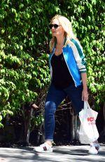 EMMA BUNTON Leaves Her Hotel in Los Angeles 06/13/2017