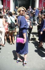 EMMA MARRONE at Salvatore Ferragamo Fashion Show at Milan Men