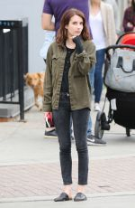 EMMA ROBERTS on the Set of Little Italy in Toronto 06/01/2017