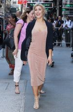 EMMA SLATER Promotes Dancing with the Stars Tour at Good Morning America in New York 06/26/2017