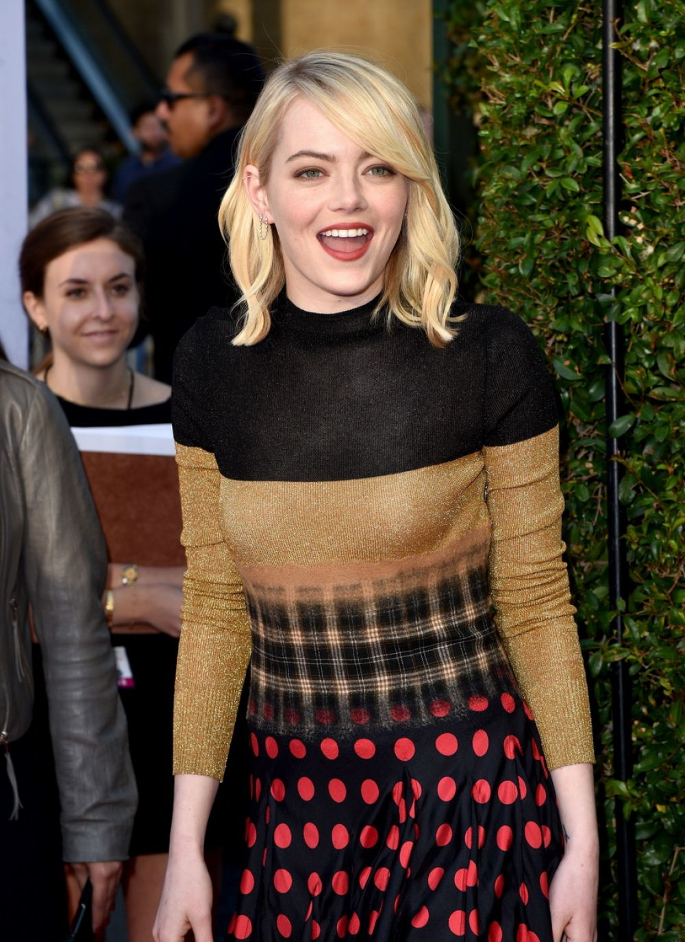 EMMA STONE at AFI Life Achievement Award in Los Angeles 06/08/2017