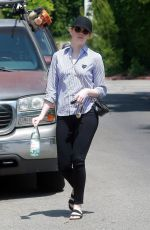 EMMA STONE Out and About in Los Angeles 06/02/2017
