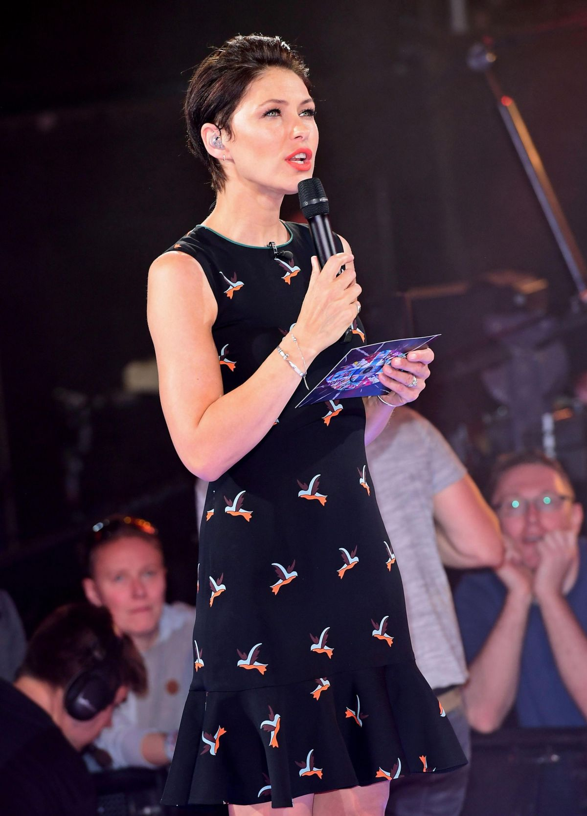EMMA WILLIS at Big Brother Live Eviction in Hertfordshire 06/16/2017